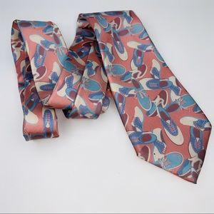 """Vintage Ralph Lauren 100% Silk Shoe Tie 3.25"""""""